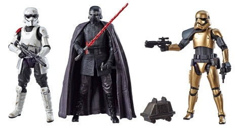 Star Wars Hasbro Black Series 6 Exclusive The First Order 4 Pack at Galaxy's Edge