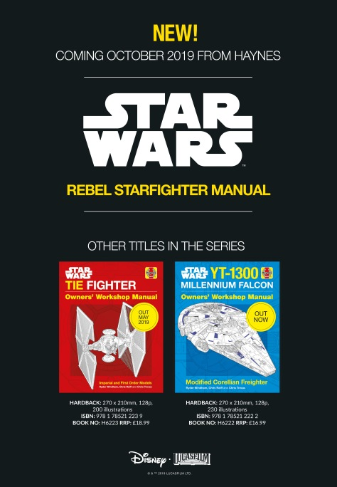 Star Wars Haynes Owners' Workshop Manuals for 2019