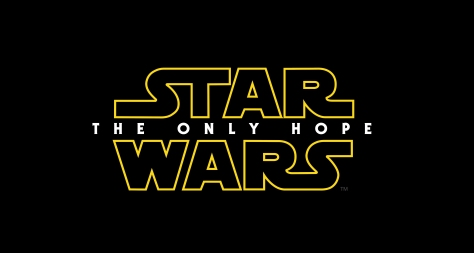 Star Wars THE ONLY HOPE Episode IX Title Logo Hi Resolution HD