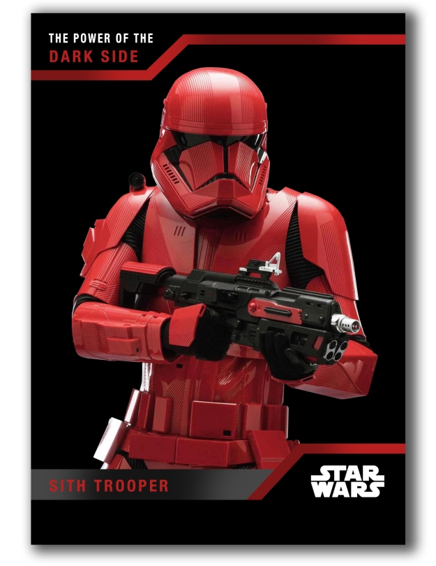 Star Wars- The Power of the Dark Side - Sith Trooper Trading Card