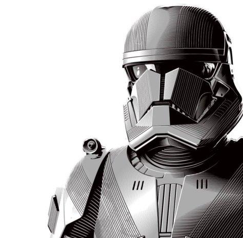 Star Wars - The Rise of Skywalker Hasbro Sith Trooper Box Art
