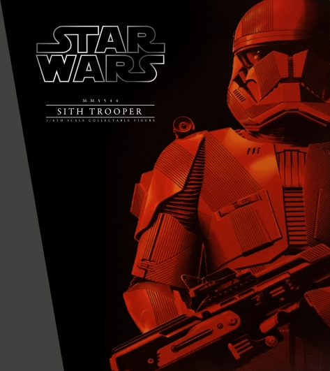 Star Wars The Rise of Skywalker Red Sith Trooper Hot Toys 1