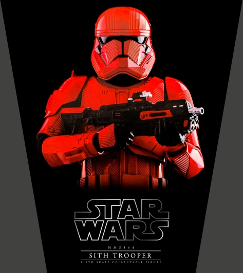 Star Wars The Rise of Skywalker Red Sith Trooper Hot Toys 2
