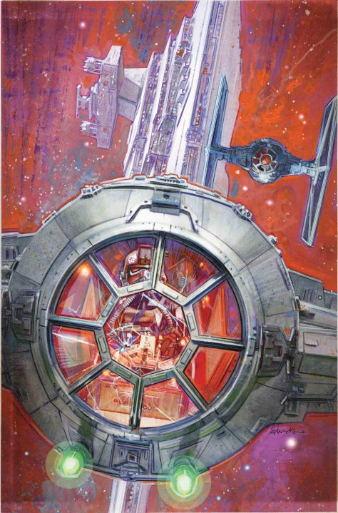 Star Wars Tie Fighter #3 The Net Closes _ Star Wars Marvel Comics Coming in June 2019