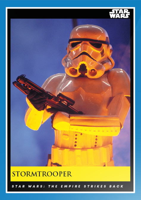 Stormtrooper _ Star Wars Galactic Moments Countdown to Episode 9 _ Week 12 Card 34