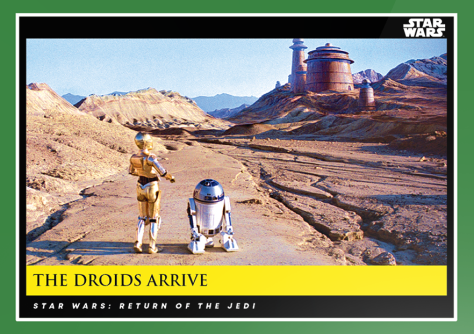 The Droids Arrive _ Star Wars Galactic Moments Countdown to Episode 9 _ Week 13 Card 38