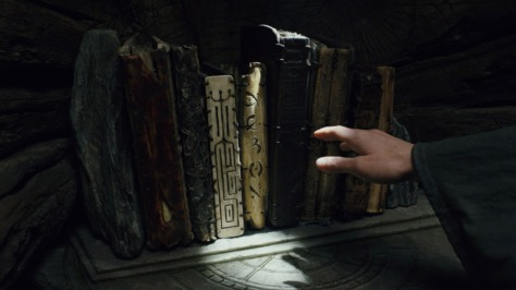 The Jedi Texts and Books from Star Wars The Last Jedi Prop Department Luke