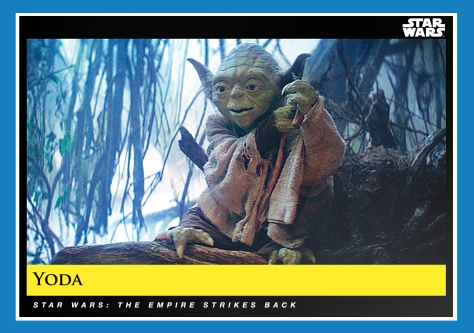 Yoda _ Star Wars Galactic Moments Countdown to Episode 9 _ Week 11 Card 31