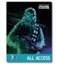 Star Wars Celebration 2019 Chicago All Access Chewbacca Badge Pass Art