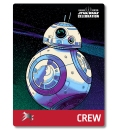 Star Wars Celebration 2019 Chicago Crew BB8 Badge Pass Art