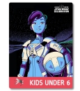 Star Wars Celebration 2019 Chicago Kids Under 6 Torra Doza Pass Art