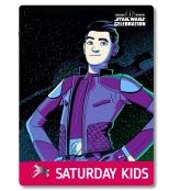 Star Wars Celebration 2019 Chicago Saturday Kids Kaz - Kazuda Xiono Badge Pass Art