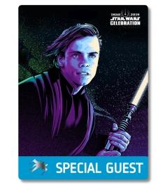 Star Wars Celebration 2019 Chicago Special Guest Luke Skywalker Badge Pass