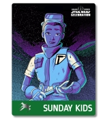 Star Wars Celebration 2019 Chicago Sunday Kids Tam Ryvora The Resistance Badge Pass