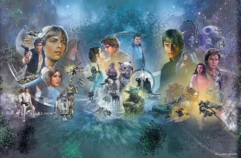 Star Wars Celebration 2019 Official Full Mural Poster Hi-Res