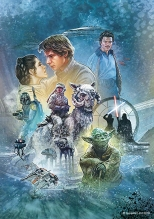 Star Wars Celebration 2019 Official Mural Poster by Jason Palmer Empire Strikes Back Hi-Res