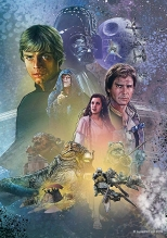 Star Wars Celebration 2019 Official Mural Poster by Jason Palmer Return of the Jedi - Hi-Res