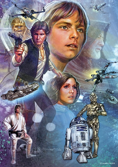 Star Wars Celebration 2019 Official Mural Poster Hi Res
