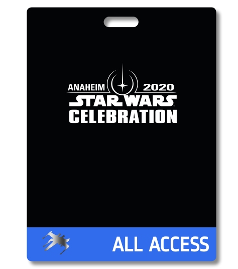 Star Wars Celebration 2020 Anaheim Badge Pass Art