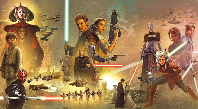 Star Wars Celebration Mural – Hi-Res