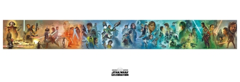 Star Wars Celebration Complete Mural Poster
