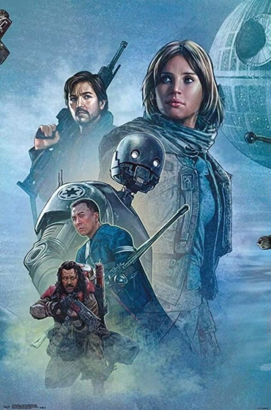 Star Wars Celebration Complete Mural Rogue One Section