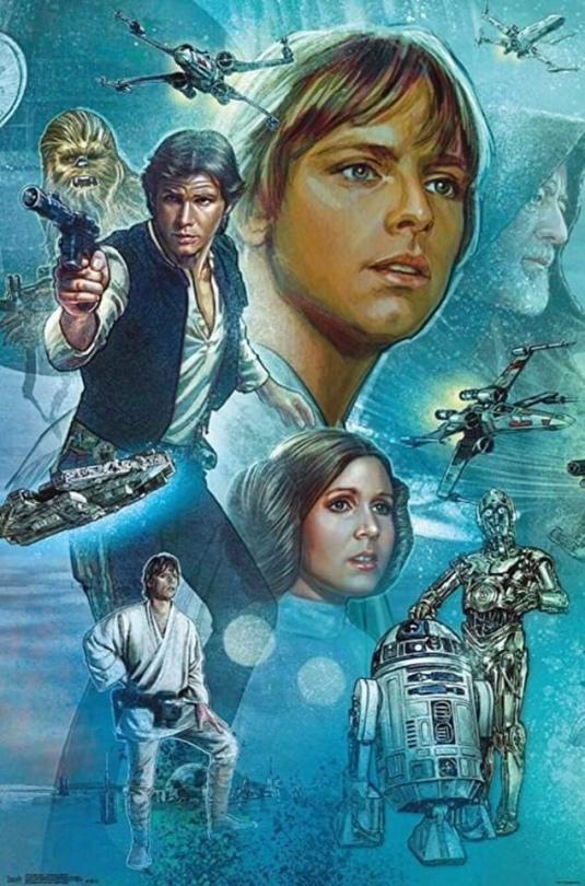 Star Wars Celebration Complete Mural Star Wars Section