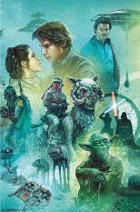 Star Wars Celebration Complete Mural The Empire Strikes Back Section