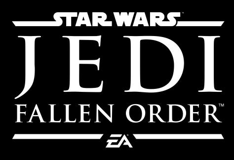 Star Wars Jedi Fallen Order Hi Res Reverse Logo