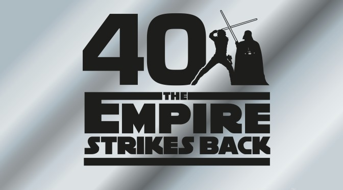 Star Wars: The Empire Strikes Back 40th Anniversary Logo