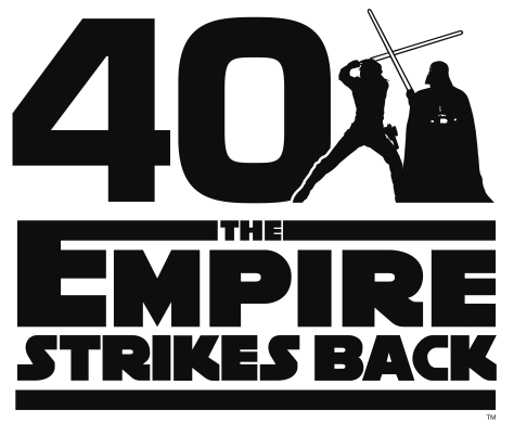 Star Wars The Empire Strikes Back 40th Anniversary Official Logo