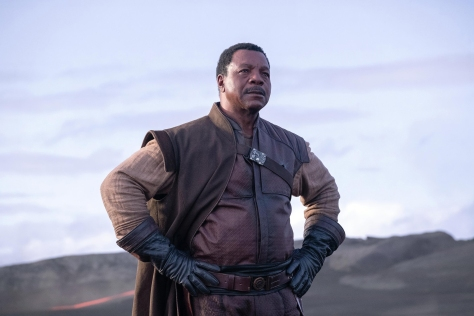 Star Wars The Mandalorian Hi-Res Official Images Carl Weathers plays Greef Carga