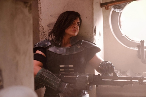 Star Wars The Mandalorian Hi-Res Official Images Gina Carano plays a former shock trooper named Cara Dune