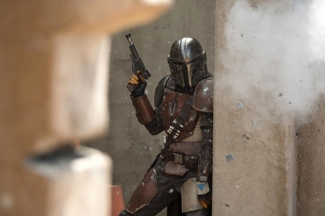 Star Wars The Mandalorian played by Pedro Pascal Hi-Res Official Images