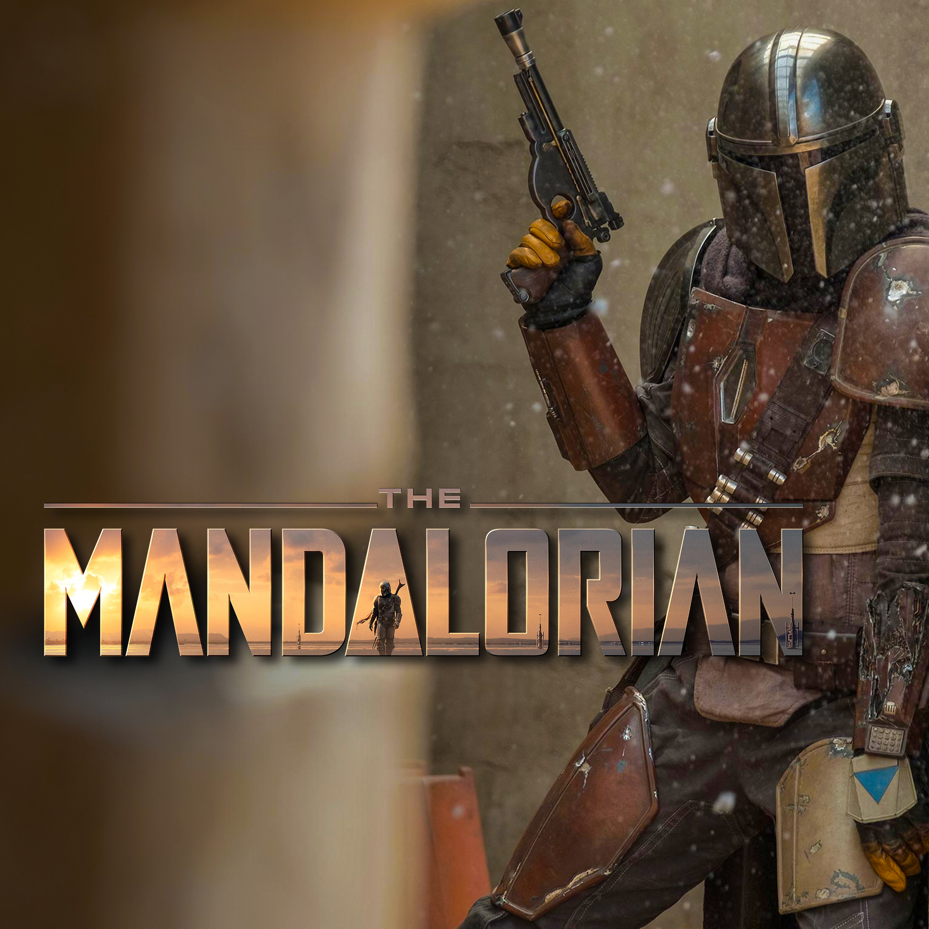 Star Wars The Mandalorian played by Pedro Pascal Hi-Res Official Images 2
