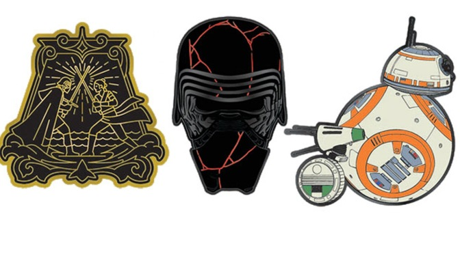 Star Wars: The Rise of Skywalker Enamel Pin Badges