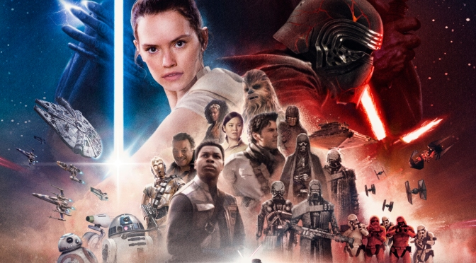 Star Wars The Rise of Skywalker FanArt Poster by Preedee Thinnakorn Na Ayudhya Header