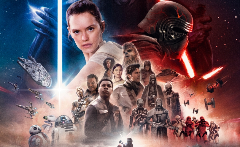 Star Wars The Rise of Skywalker FanArt Poster by Preedee Thinnakorn Na Ayudhya Header