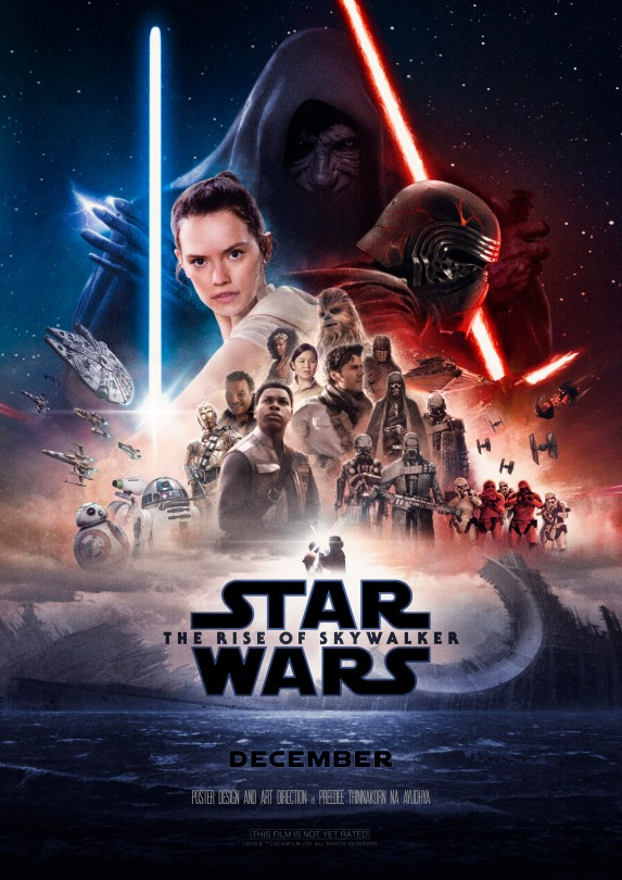Star Wars The Rise of Skywalker FanArt Poster by Preedee Thinnakorn Na Ayudhya