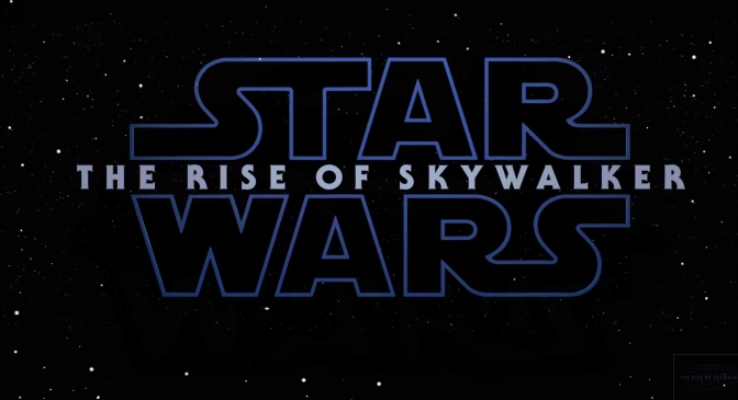 Star Wars The Rise of Skywalker Logo