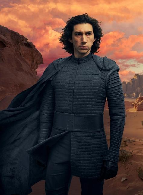 Star Wars - The Rise of Skywalker Textless Clean Vanity Fair Kylo Ren Cover