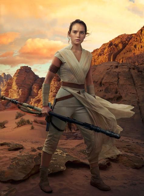 Star Wars - The Rise of Skywalker Textless Clean Vanity Fair Rey Cover