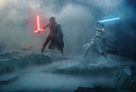 Star Wars - The Rise of Skywalker Vanity Fair Kylo and Rey Star Crossed Lovers Exclusive Hi Resolution Images and Photos by Annie Leibovitz