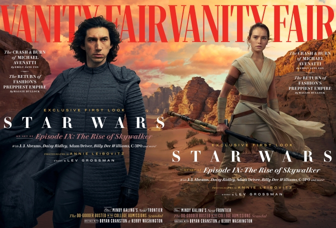 Star Wars: The Rise of Skywalker – Vanity Fair Hi-Res Images