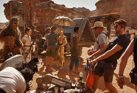 Star Wars - The Rise of Skywalker Vanity Fair Rebels on the Planet Pasaana Exclusive Hi Resolution Image by Annie Leibovitz