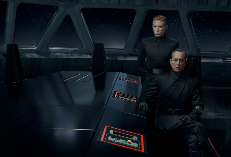 Star Wars - The Rise of Skywalker Vanity Fair Richard E. Grant as Allegiant General Pryde Exclusive Hi Resolution Image by Annie Leibovitz