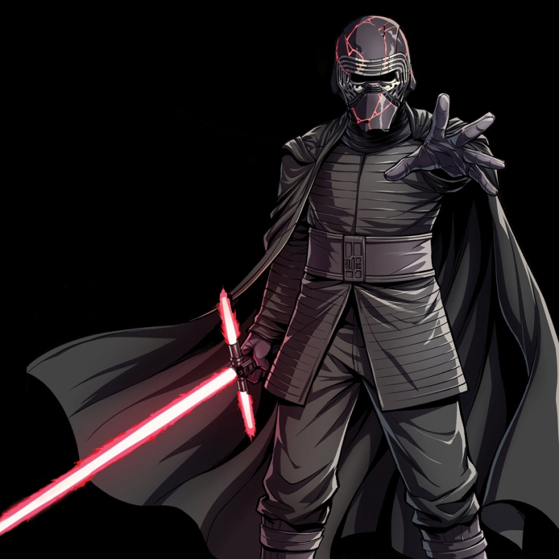 The Journey To Star Wars The Rise Of Skywalker Kylo Ren Cover Art Geek Carl
