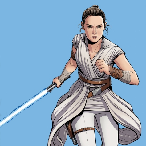 The Journey to Star Wars - The Rise of Skywalker - Rey Cover Art