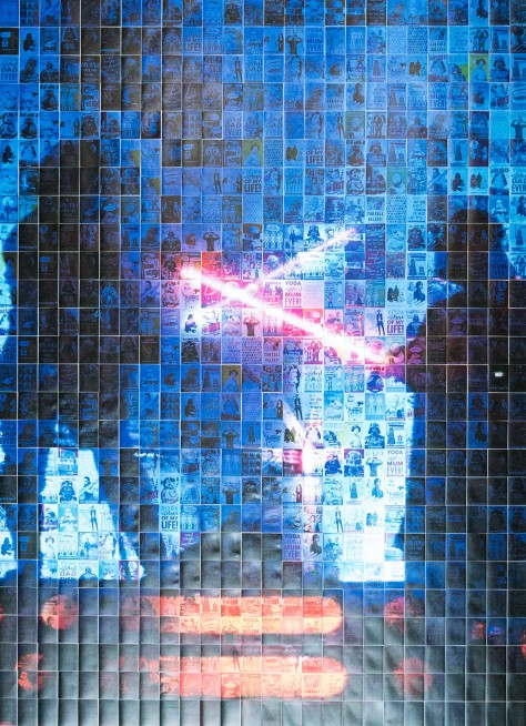 The MoonPig Star Wars Day Card Mosaic Final
