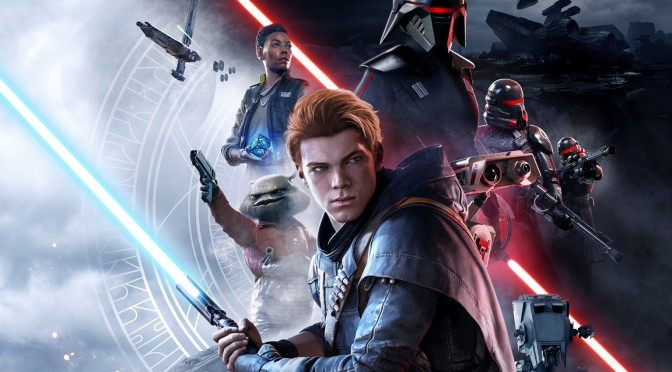 Star Wars Jedi Fallen Order Banner Key Art Revealed